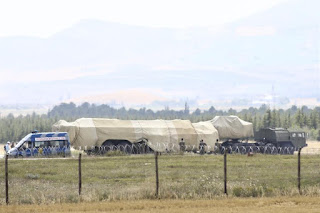 Pengiriman Sistem Rudal S-400 Turki