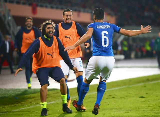Italy among play-off hopefuls