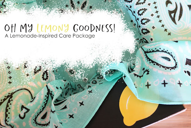 Lemonade-Inspired Care Package