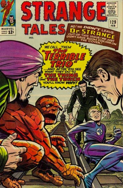 Strange Tales #129, the Terrible Trio