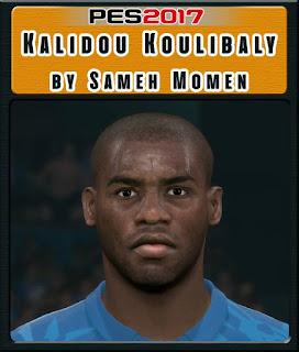 PES 2017 Faces Kalidou Koulibaly by Sameh Momen
