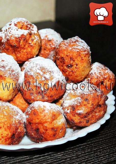 рецепт вкусных пончиков с фото