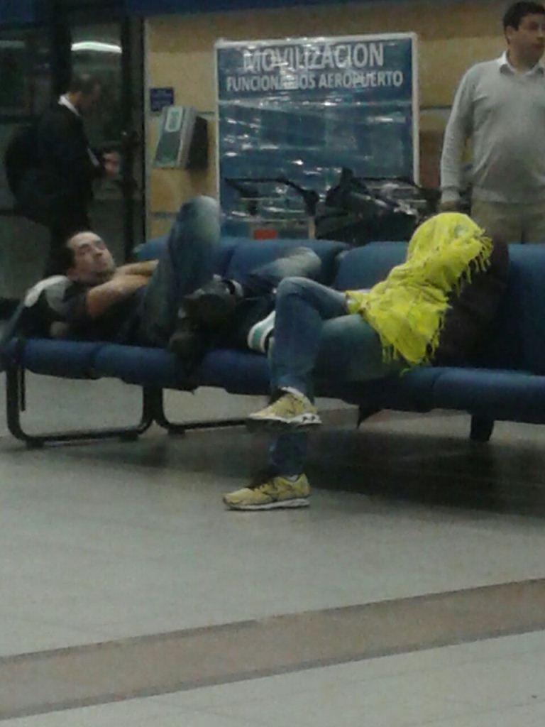 Onde dormir no Aeroporto de Santiago