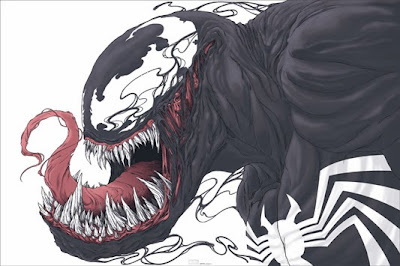 Mondo x Marvel Comic Book Screen Print Series Venom by Randy Ortiz