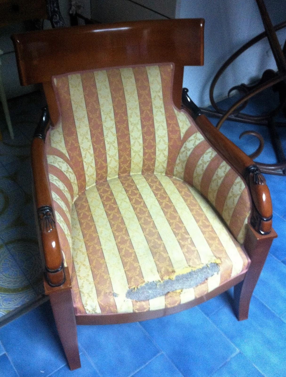 Como tapizar una butaca paso a paso tapizar una silla paso a paso bricolaje with como tapizar - Cuanto cuesta tapizar una butaca ...