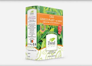 Cumpara de aici ceaiul Gyneco Plant pentru uz intern