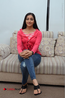 Telugu Actress Mouryani Latest Pos in Blue Denim Jeans  0100.JPG
