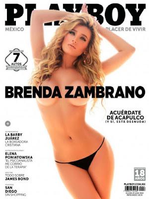Brenda Zamorano Revista PlayBoy México Noviembre 2015