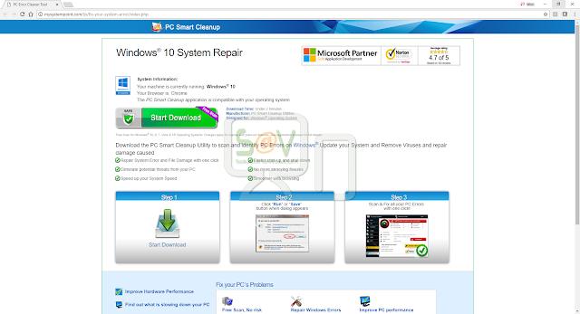 Mysystempoint.com pop-ups