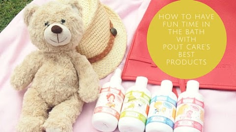 Amazing Fun Time in the Bath with Pout Care's Best Products