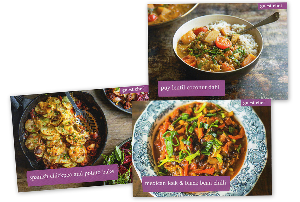Riverford Organic Recipe Cards