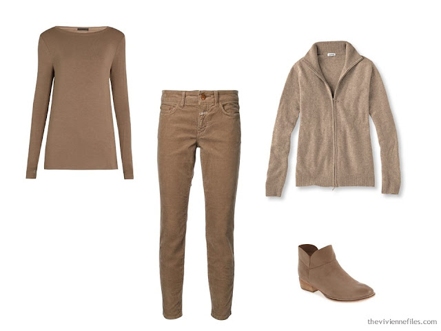Camel beige foundation capsule wardrobe