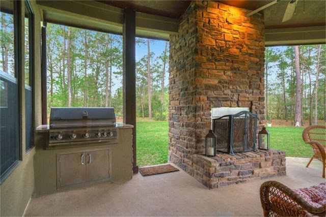 Home Styles-Craftsman-Outdoor Fireplace- From My Front Porch To Yours