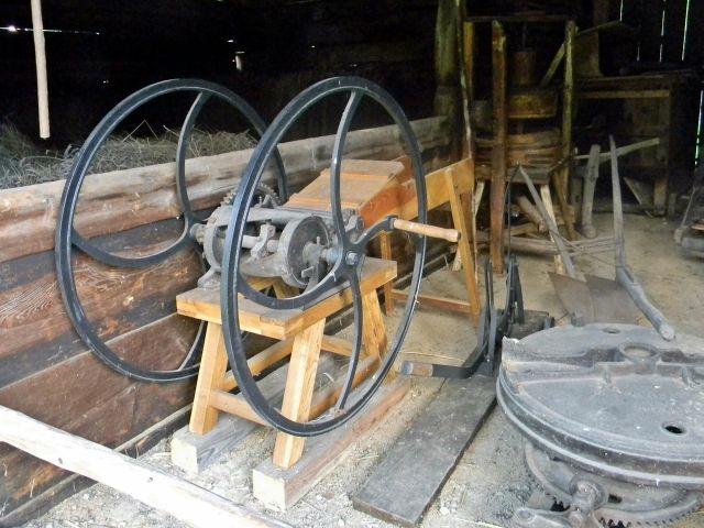 rolnictwo, urządzenia, dawniej, skansen