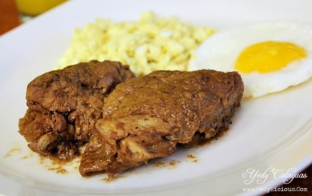 Aristocrat Restaurant Breakfast Chicken Pork Adobo