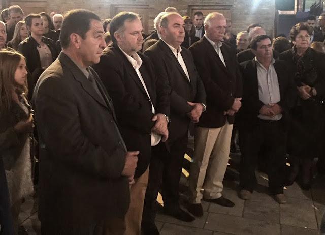 Στο Σχινοχώρι για την εορτή του Αγίου Δημητρίου ο Αντιπεριφερειάρχης Αργολίδας Τάσσος Χειβιδόπουλος