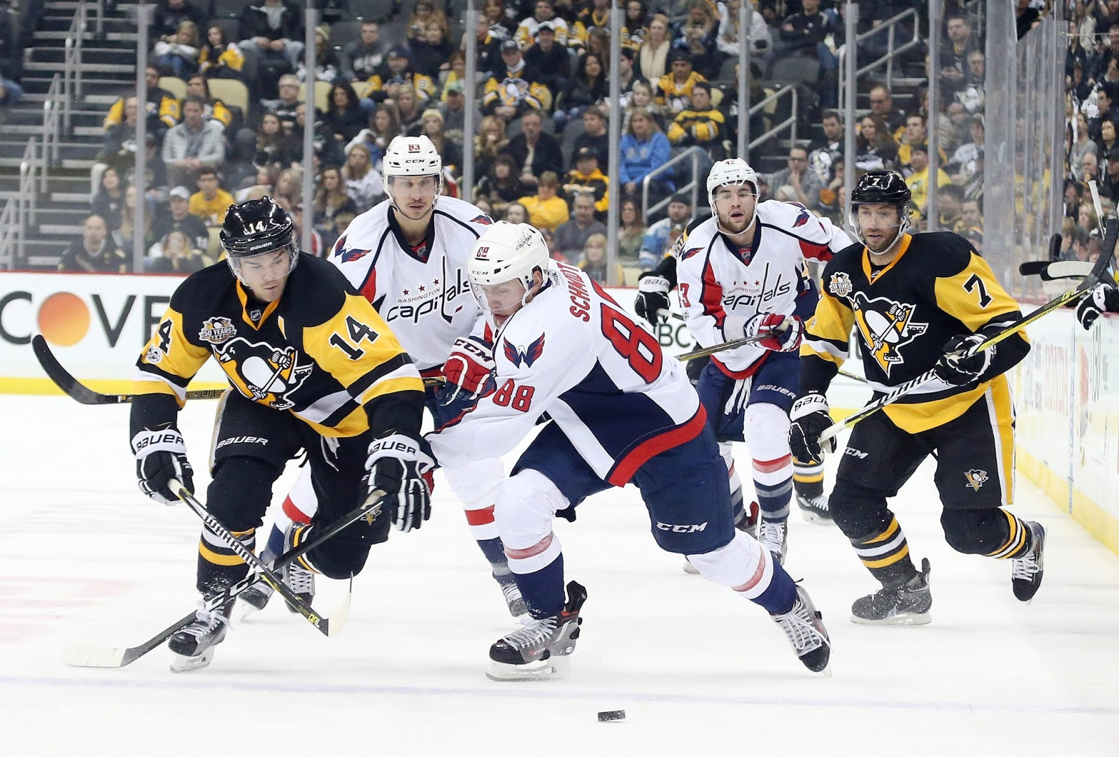 4ce9cf0f073 We have a rematch. Sidney Crosby and Alex Ovechkin will face each other in  round 2 again. Last year