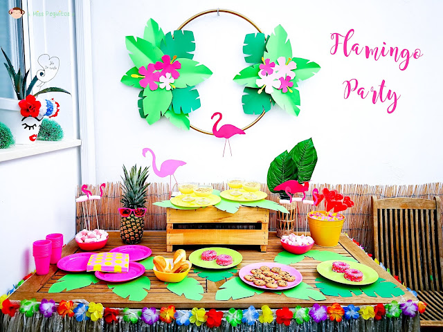 flamingos party freebies
