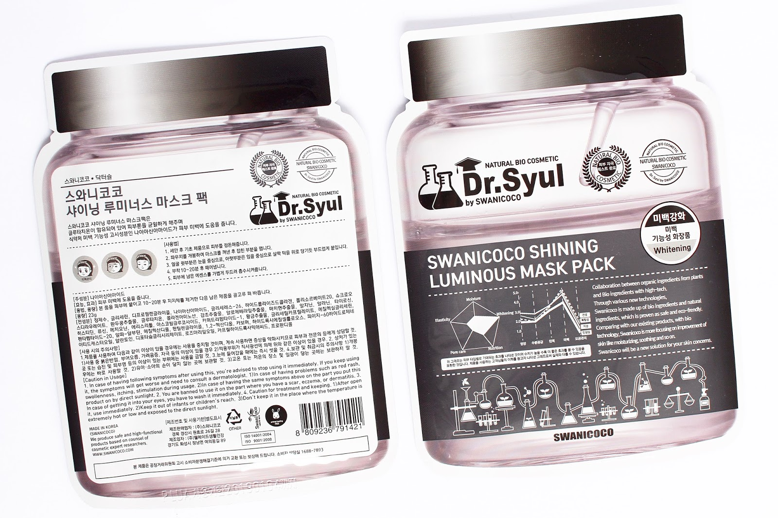 Dr. Syul by Swanicoco, Shining Luminous Mask Pack