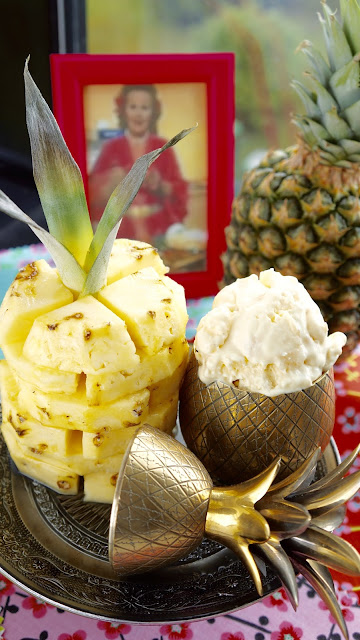 Fanny Cradock Pineapple Ice Cream
