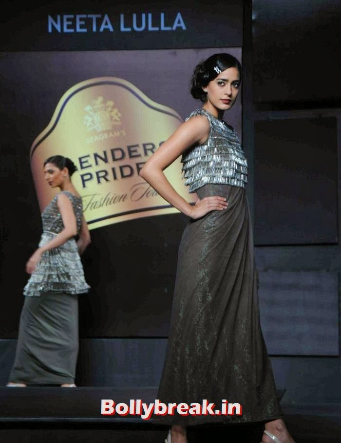 Diva Dhawan, Tamanna, Kalki for Neeta Lulla at BPFT 2013