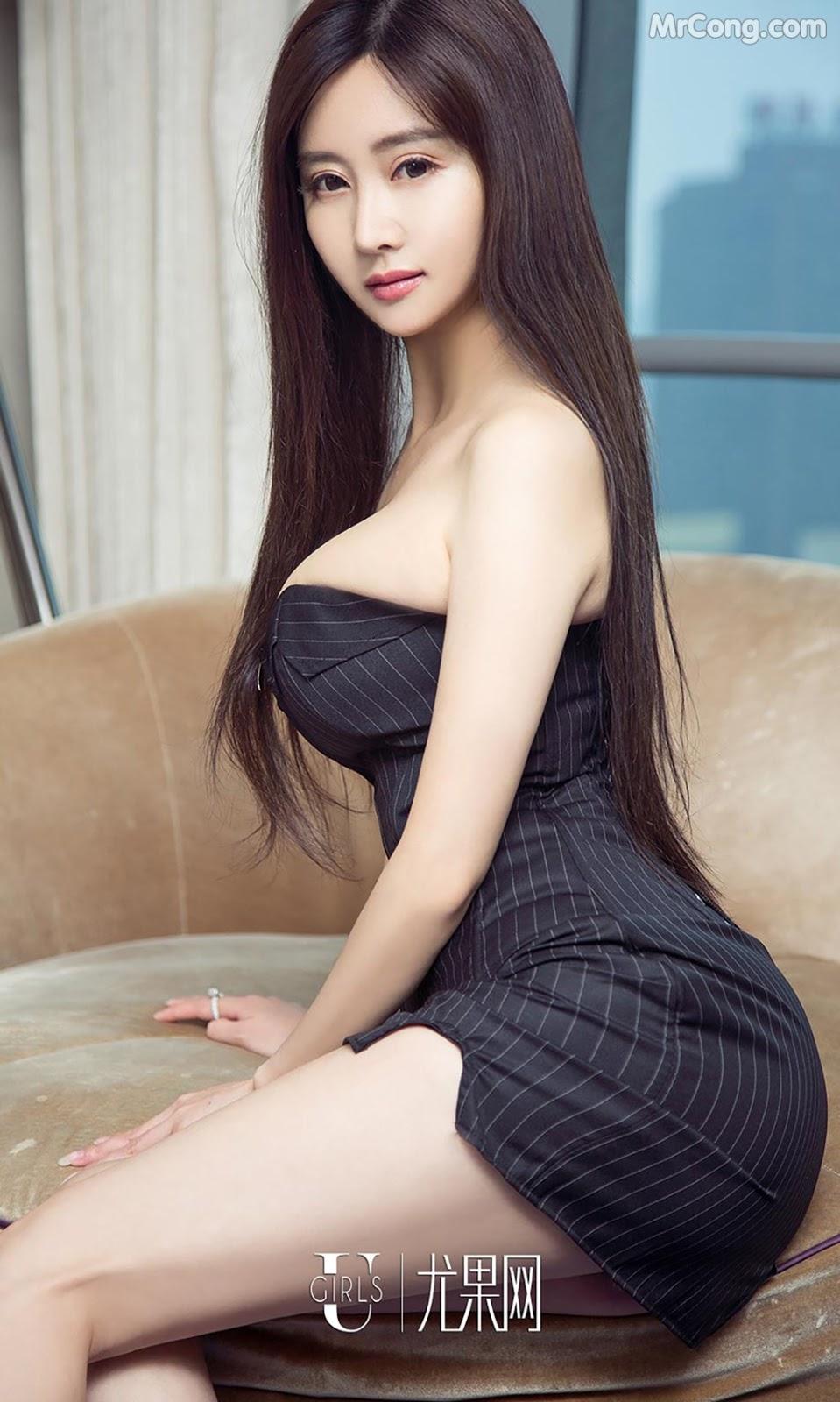 Image UGIRLS-Ai-You-Wu-App-No.790-MrCong.com-003 in post UGIRLS – Ai You Wu App No.790: Người mẫu Han Yu Chan (韩雨婵) (40 ảnh)