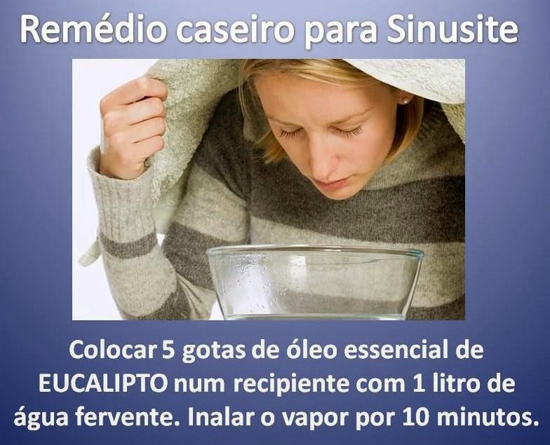 sinusite tratamento caseiro inalacao