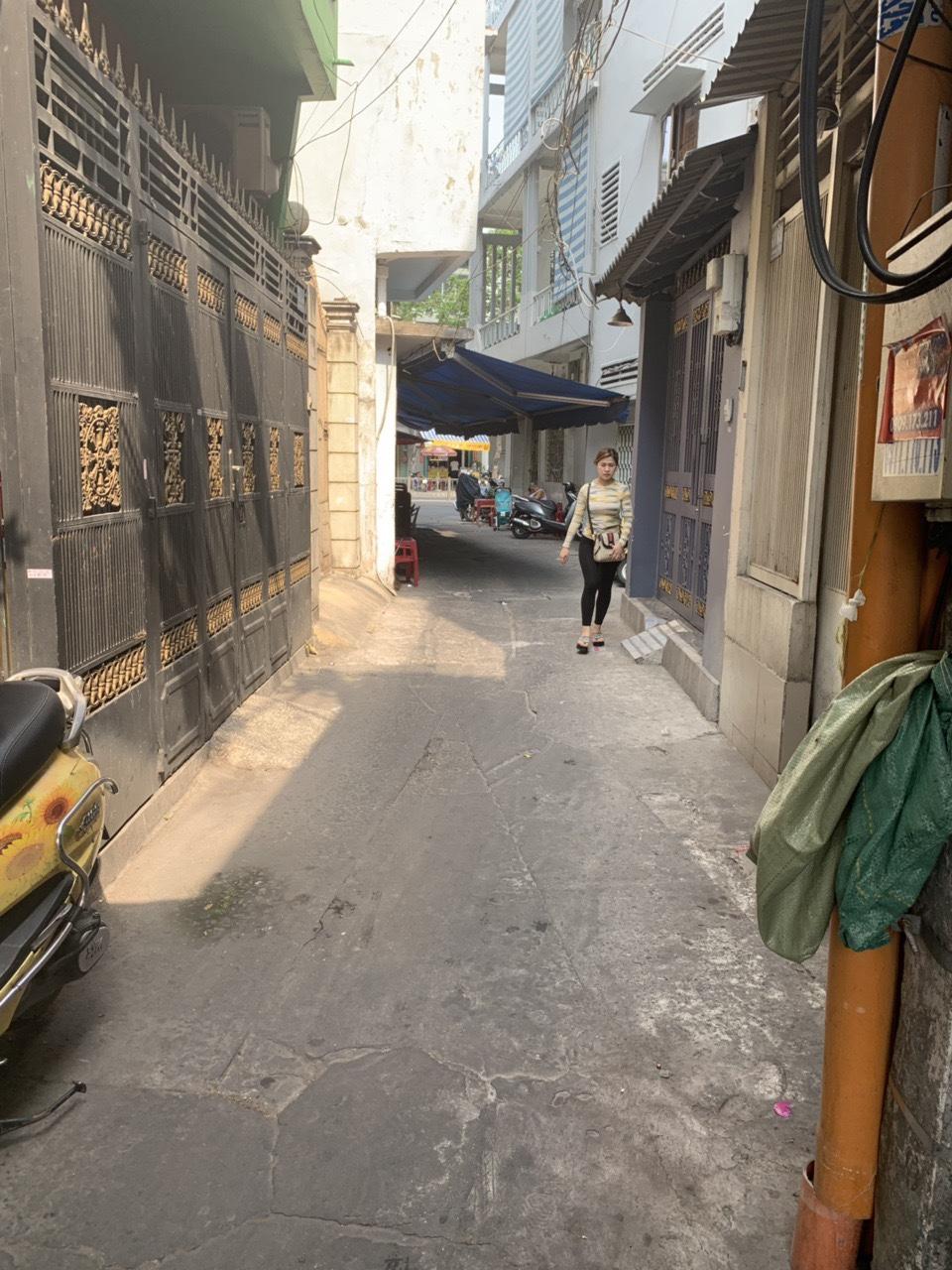 Bán nhà hẻm Lê Hồng Phong phường 10 Quận 10, DT 3,65m x 11,1m