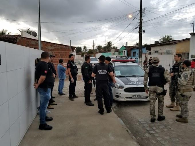 Polícia realiza operação contra tráfico de drogas em Itabaiana e Juripiranga