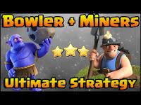 Strategi Jitu Terbaik COC TH 10 Anti Miner dan Blower 100%