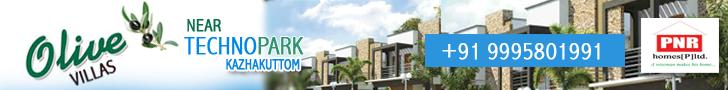 Villas and houses for sale near Technopark Trivandrum