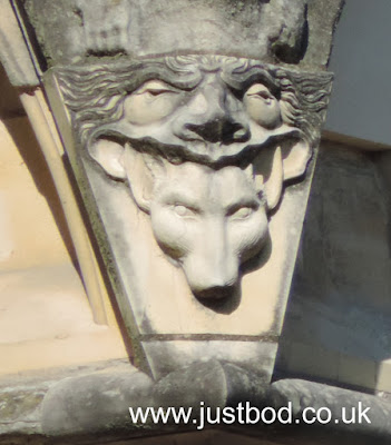 Grotesque exterior of Chapter House, York Minster