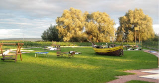 A view of the venue in Krynica Morska (photo by Sopot Minigolf Club)