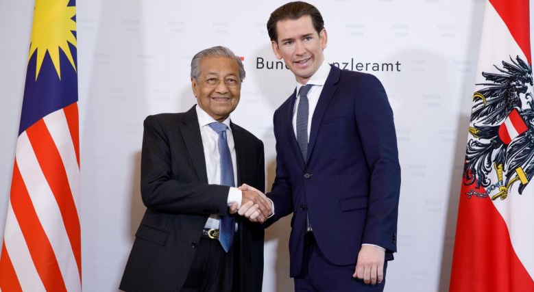 Mahathir Vienna