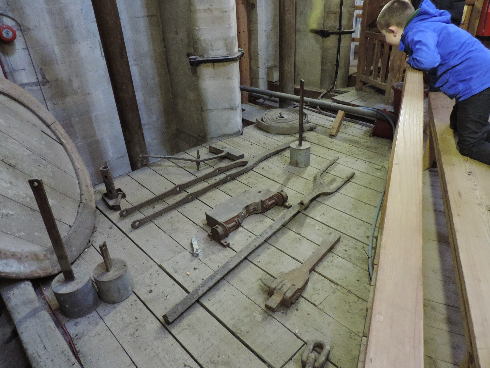 salisbury cathedral tower tour medieval stonemasons tools