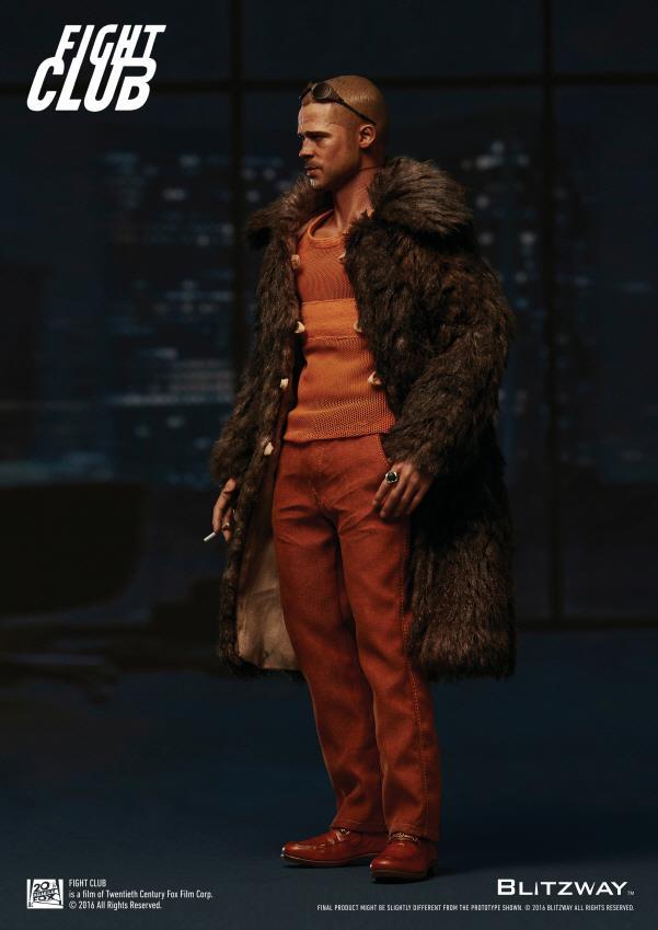 Blitzway Fight Club Tyler Durden Brad Pitt 1//6 Bathrobe Accessory For 12/'/'Figure