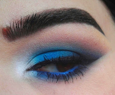 Tuto Blue Makeup