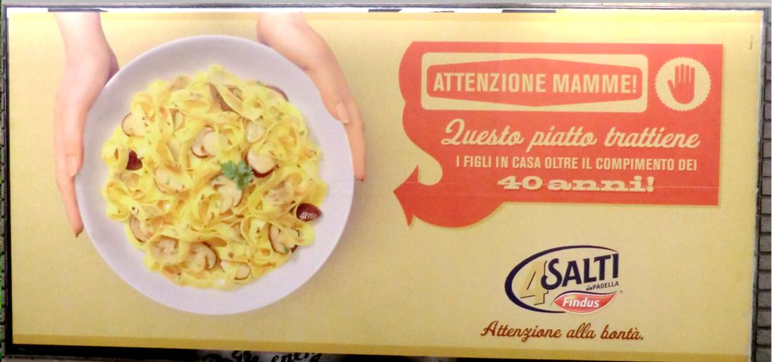 Stylebunny 4 salti nel sessismo sexist advertisement for for Cucinare 4 salti in padella