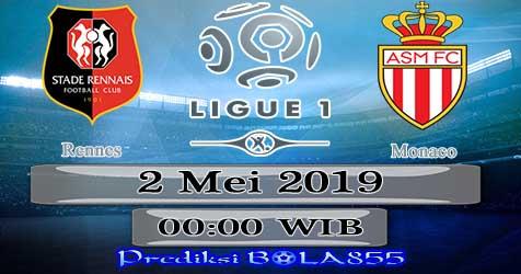 Prediksi Bola855 Rennes vs Monaco 2 Mei 2019