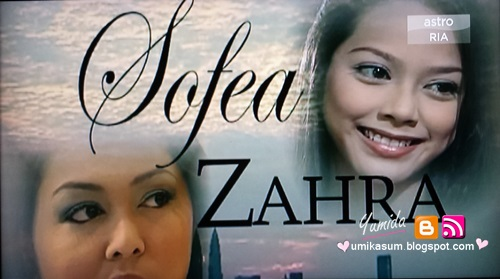 Sinopsis drama Sofea Zahra (Astro), pelakon dan gambar drama Sofea Zahra (Astro), Sofea Zahra episod akhir – episod 13, Download OST Sofea Zahra: lagu Aku Tersisih - Farawahida