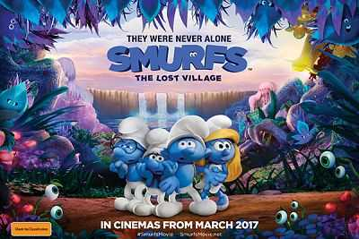 Smurfs (2017) 720p Full HD Dual Audio Download 800MB BluRay