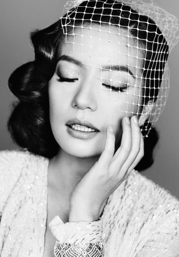 Zhao Wei by Mario Testino for Vogue China