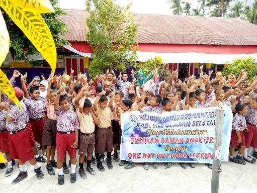 Kadis Dikbud Selayar, Hadiri Sosialisasi, Sekolah Ramah Anak