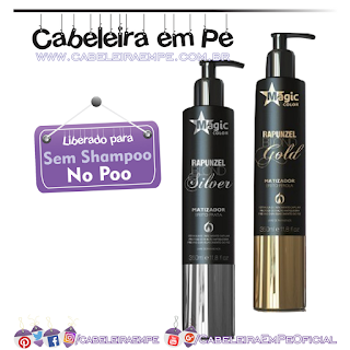 Matizadores Rapunzel - Magic Color Gold e Silver (Liberado para No Poo)