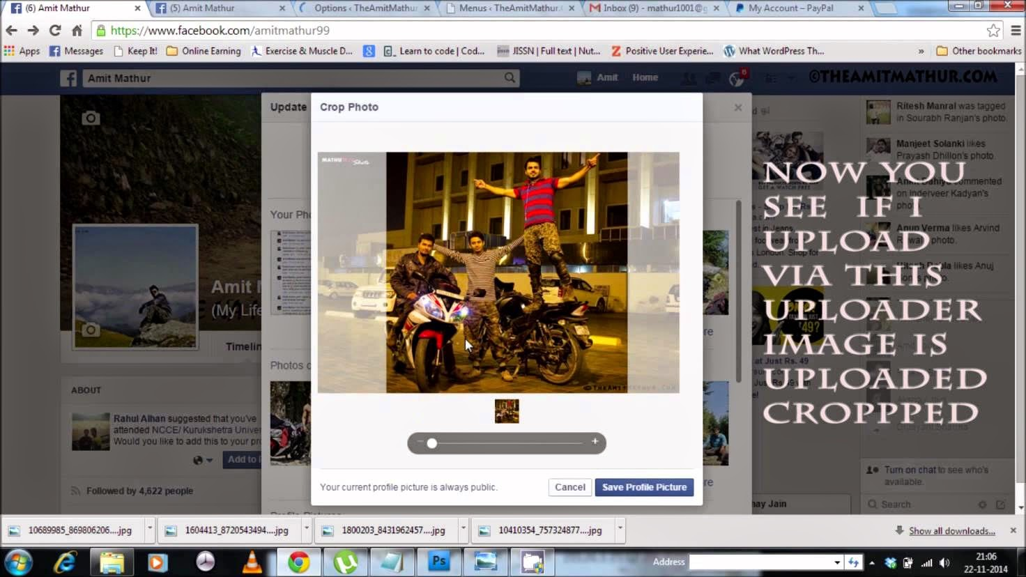 Cara Mengganti Foto Profil BBM Full Tanpa Crop