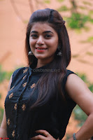 Actress Yamini Bhaskar in a Tight Black Sleeveless Dress ~  Exclusive 09.JPG