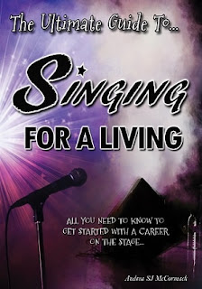 singing for a living, asj mccormack, andrea mccormack, become a pro singer book