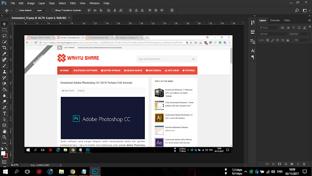 Download Adobe Photoshop CC 2018 Terbaru Full Version