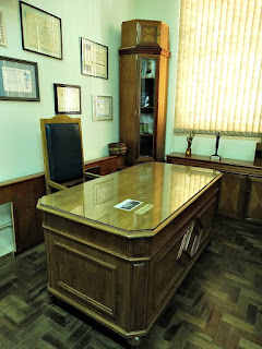 Mesa do Gabinete de Hugo Simões Lagranha - Museu Municipal de Canoas