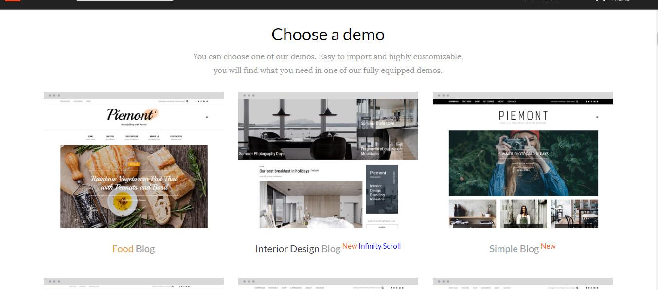 Wordpress blog theme for multi niches